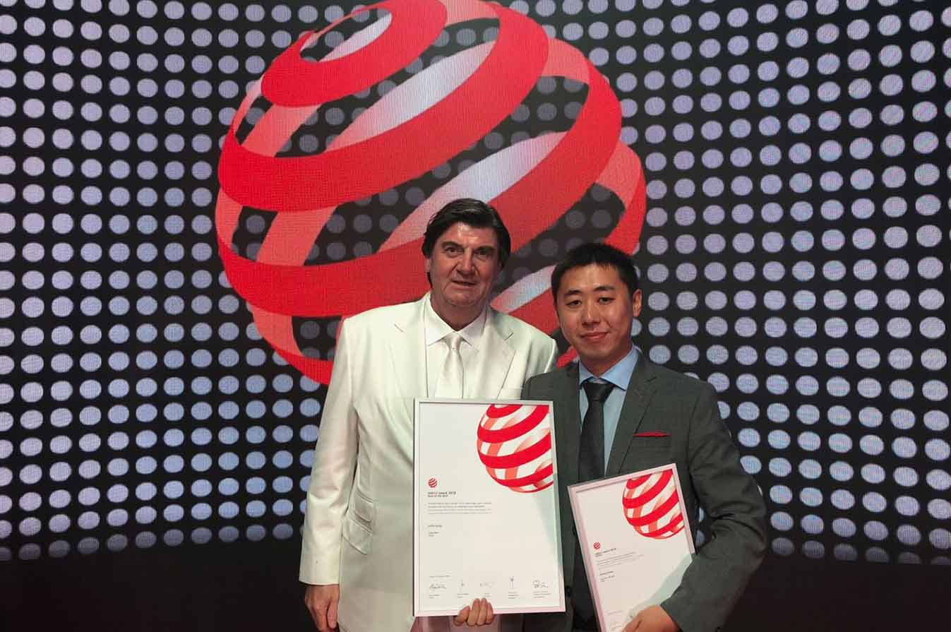 Reddot Award 2018 – Best of the Best!